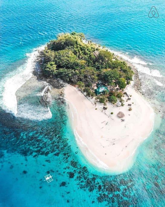 Airbnb accommodatie in Azië prive eiland el nido filippijnen