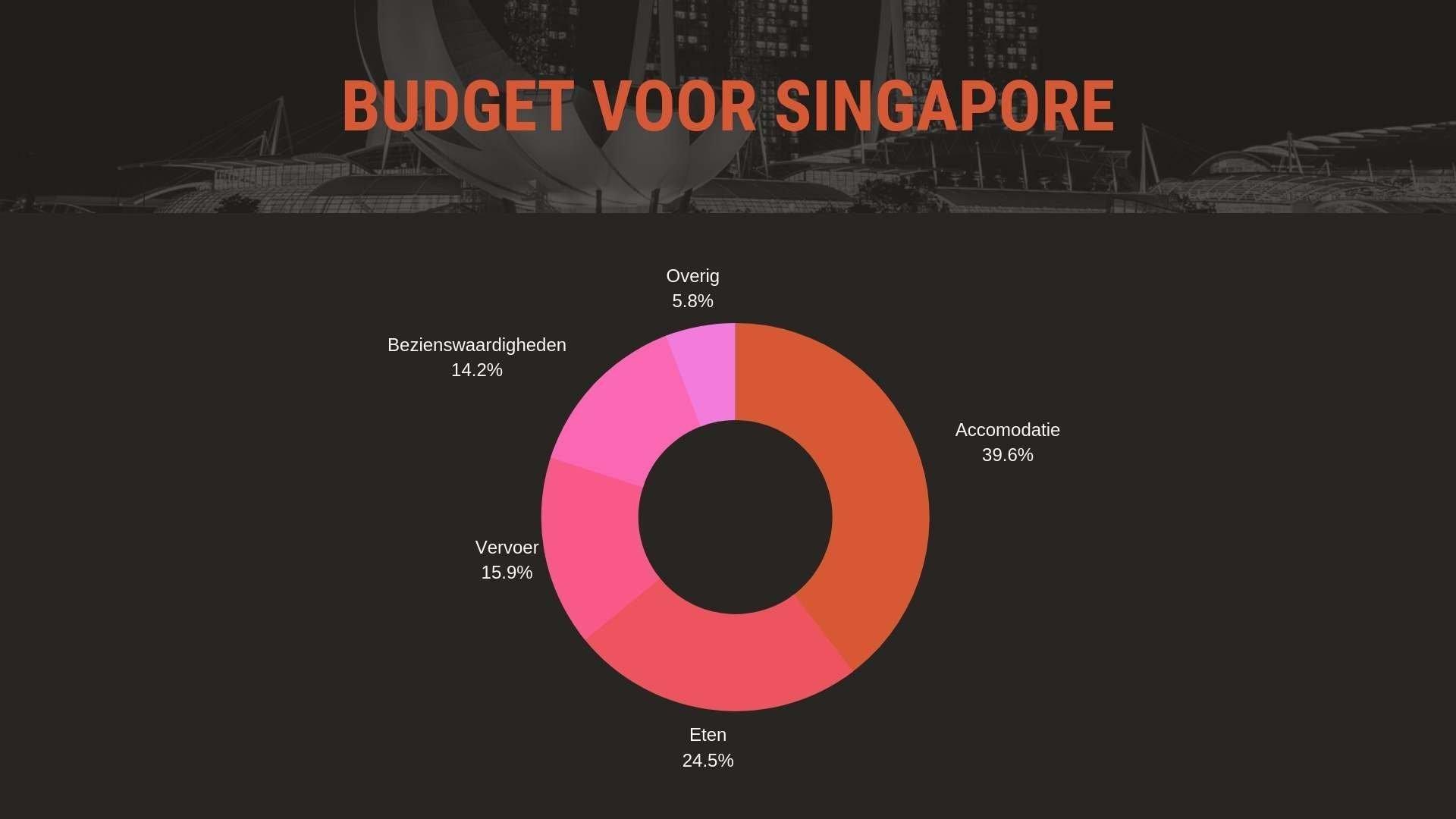 Budget voor een weekend in Singapore