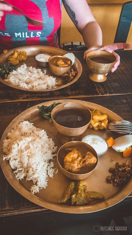 Dal Bhat at Nepali Kitchen