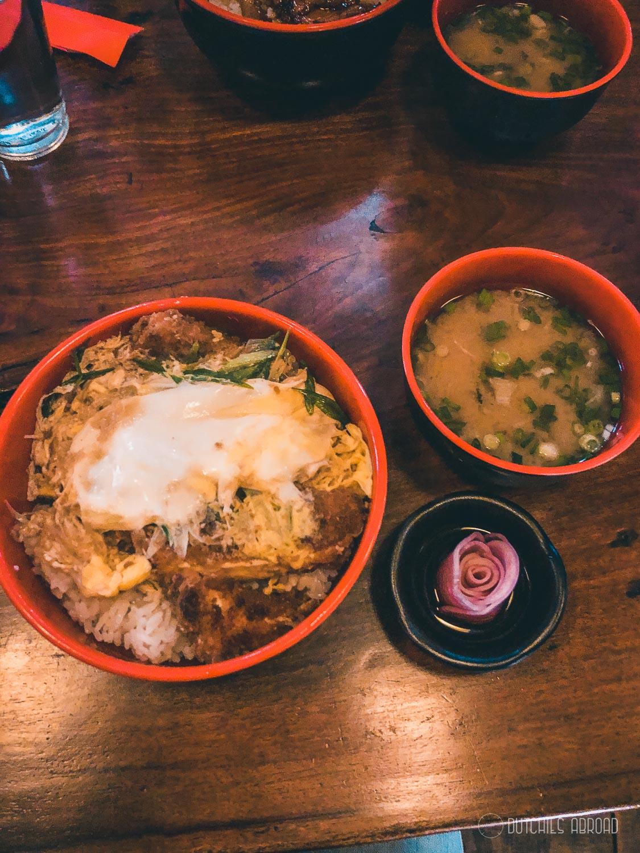 Delicious Japanese food at Momotarou