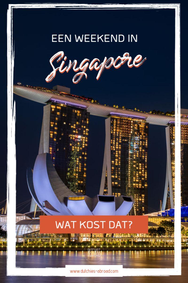 Een weekend in Singapore - dit zijn onze uitgaven