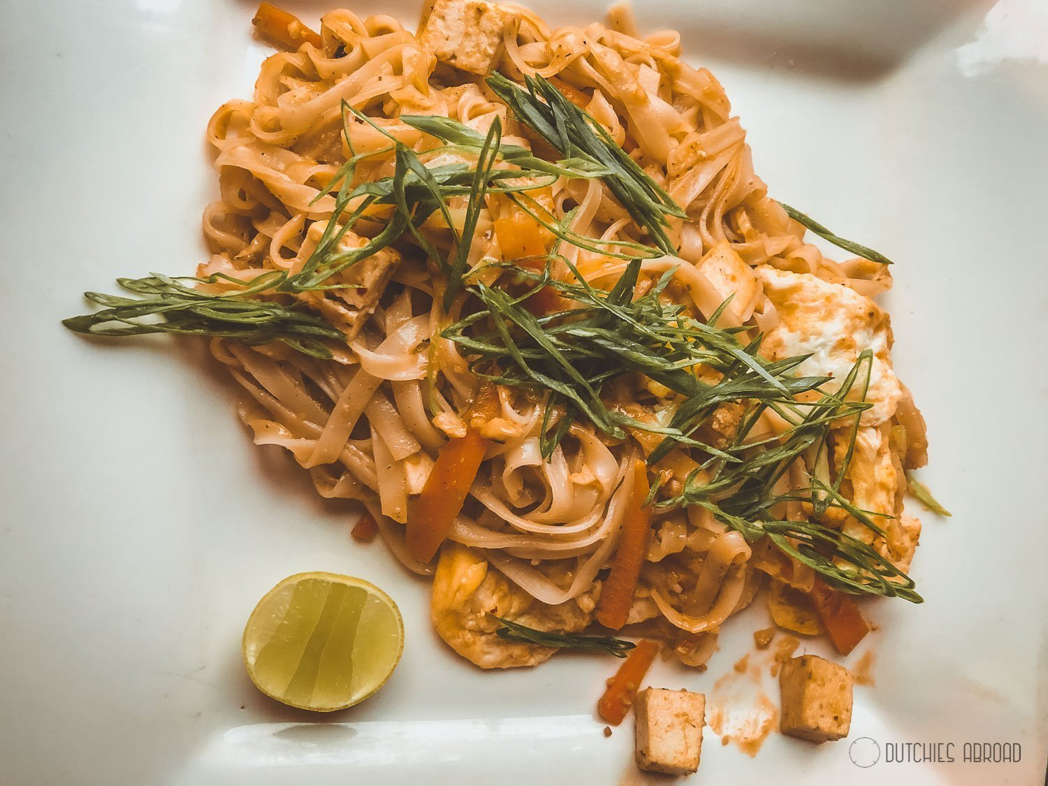 Pad Thai in Pokhara - Olive Cafe