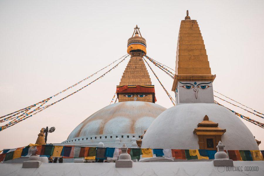Stupa in Kathmandu Nepal