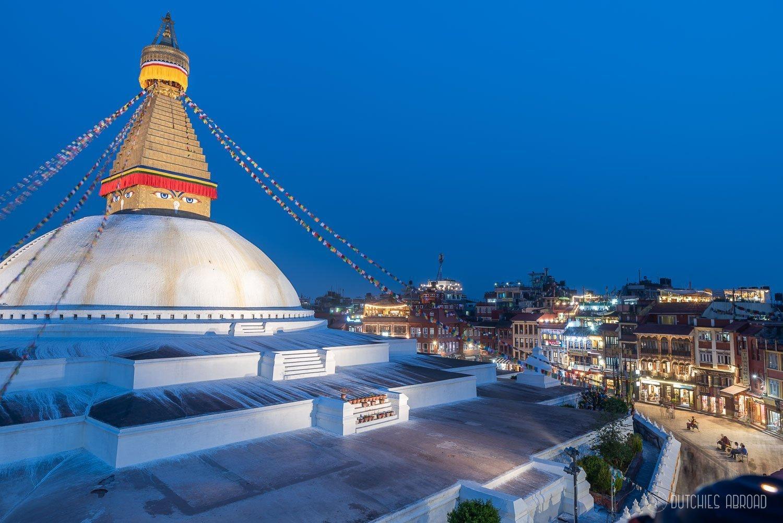 Taxi Kathmandu - Boudhanath