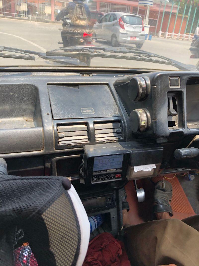Taxi in Kathmandu