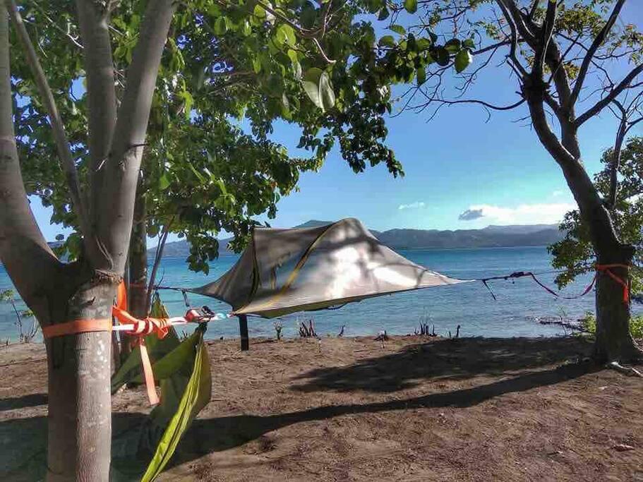 Tree tent El Nido Airbnb
