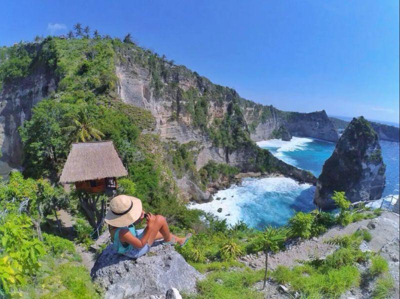 Treehouse in Nusa Penida geweldige locatie airbnb
