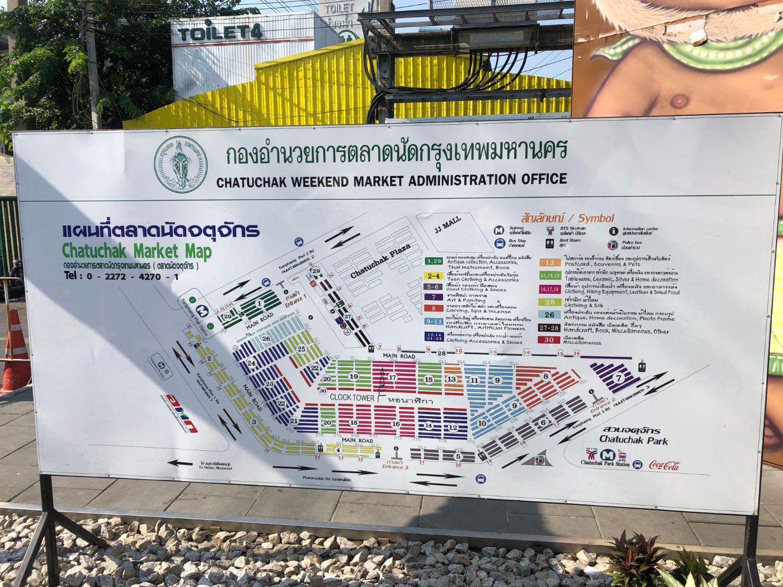 Chatuchak market plan