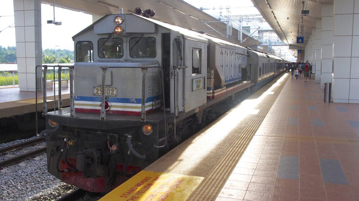 Met de trein van Singapore naar Kuala Lumpur