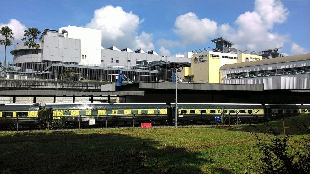 Train from Singapore to Kuala Lumpur Malaysia