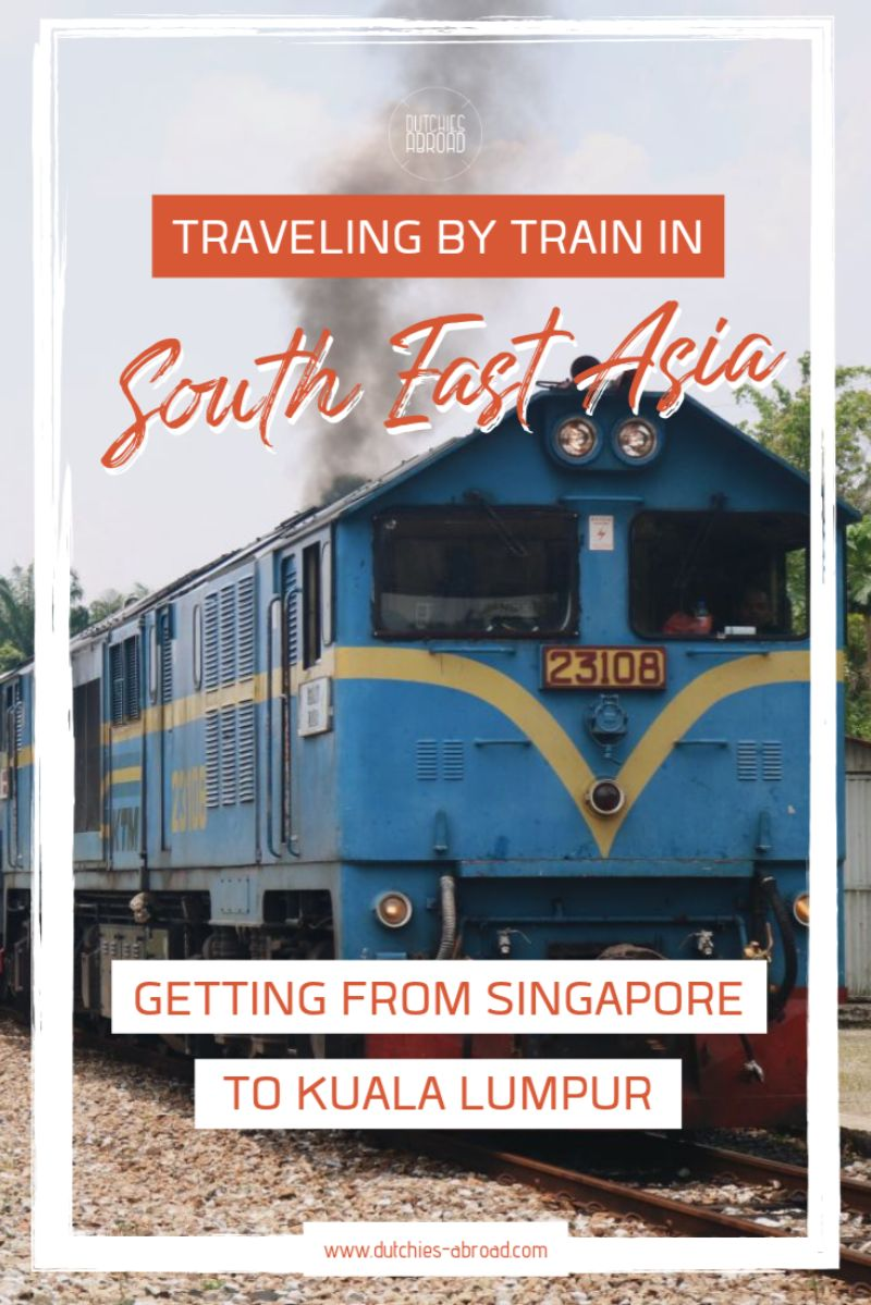 Traveling by train in south east asia