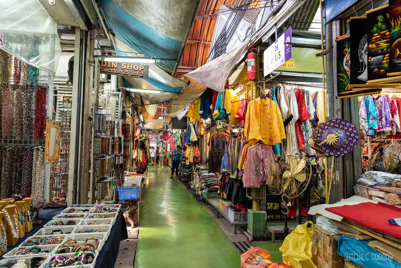 Chatuchak narrow streets Bangkok hotspot