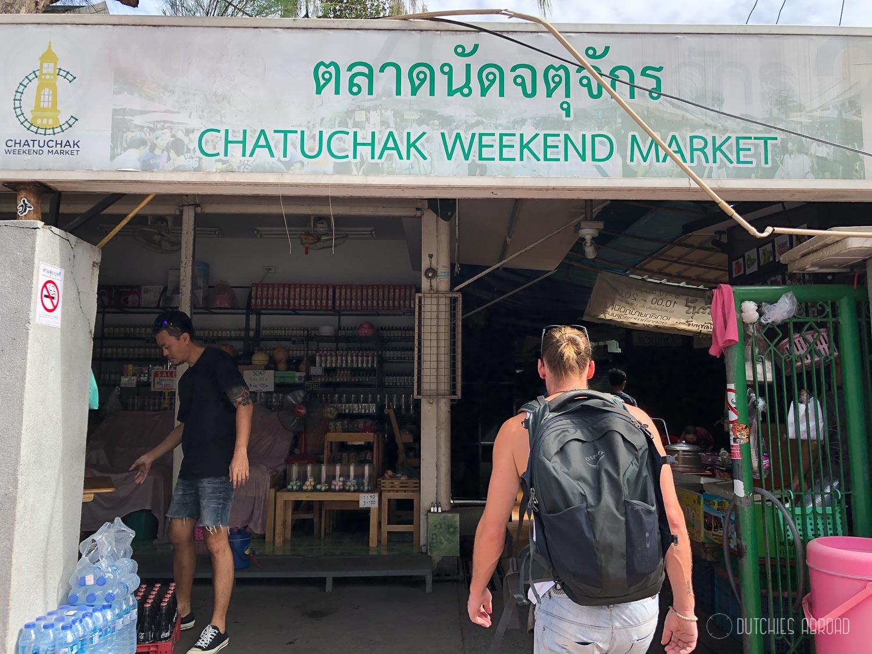 Chatuchak weekend market - Bangkok