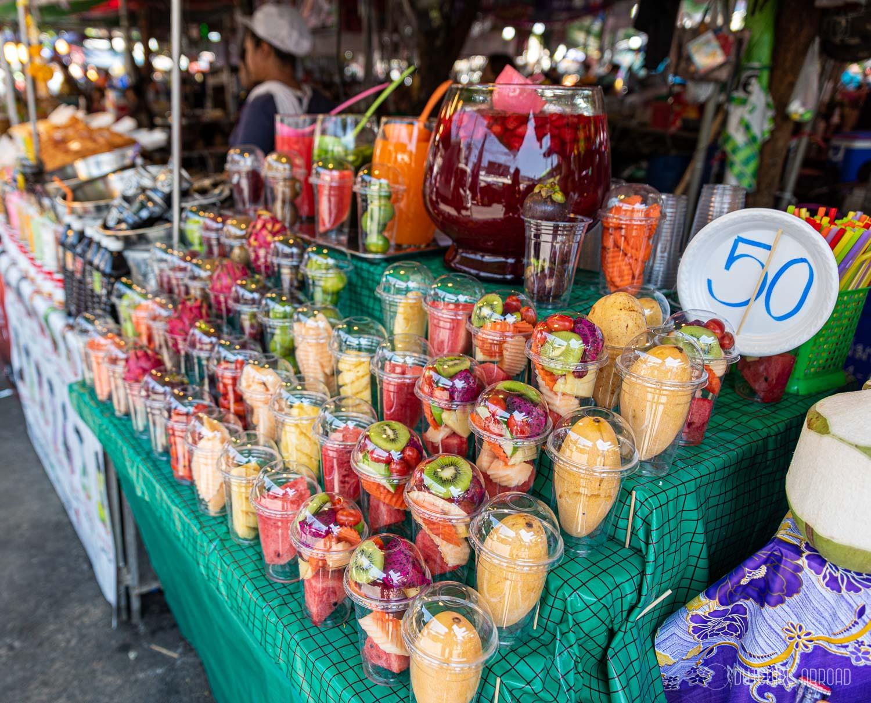 Smoothies at Chatuchak market