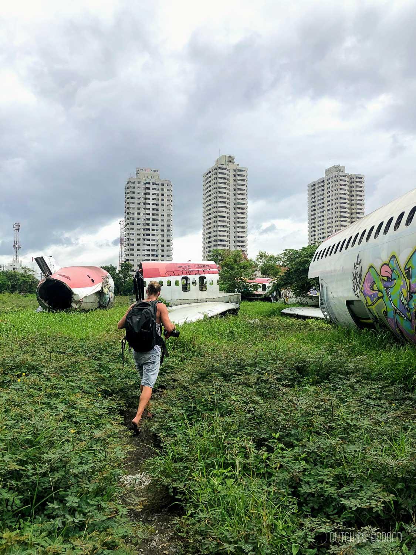 Visiting the Airplane Graveyard in Bangkok