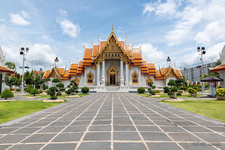 Wat Benchamabophit hotspot in Bangkok