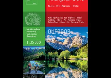 Outdoorkaart Kranjska Gora - Slovenië - Sidarta