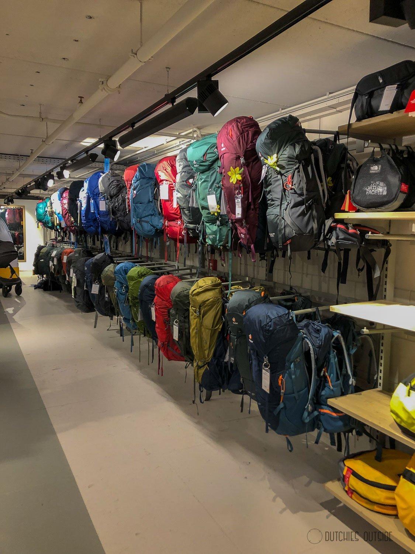 Een hike rugzak kopen - Kies een specialistische winkel