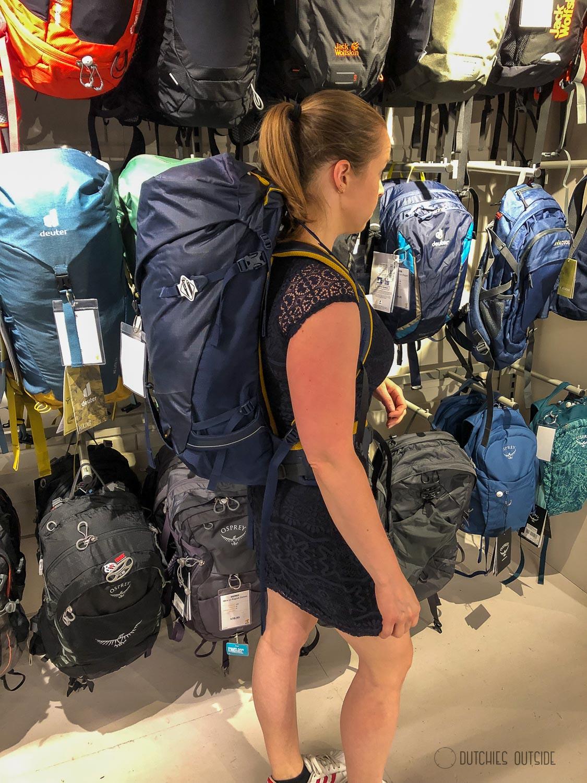 Een hike rugzak kopen - Lowe Alpine backpack