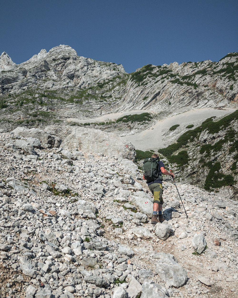 Dutchies Outside - Hiken over Puinhellingen - bergwandeltechnieken
